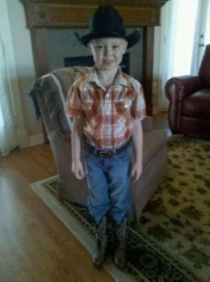 Poppy's little cowboy! (BFNDdad / chron.com)
