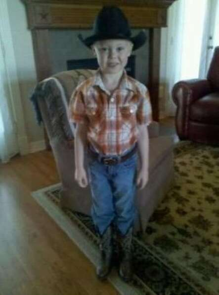 Poppy's little cowboy! (BFNDdad / chron.com)
