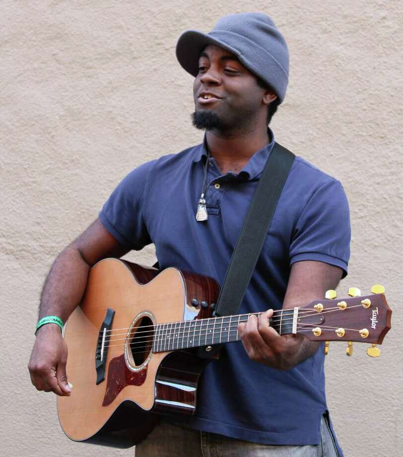Less than a month after Fairfield musician Giorgio Fareira posted a YouTube video of himself singing a fast-food order at Sonic, his performances have been viewed by millions on the Internet and on television's Ellen DeGeneres Show. Photo: Contributed Photo / Fairfield Citizen contributed