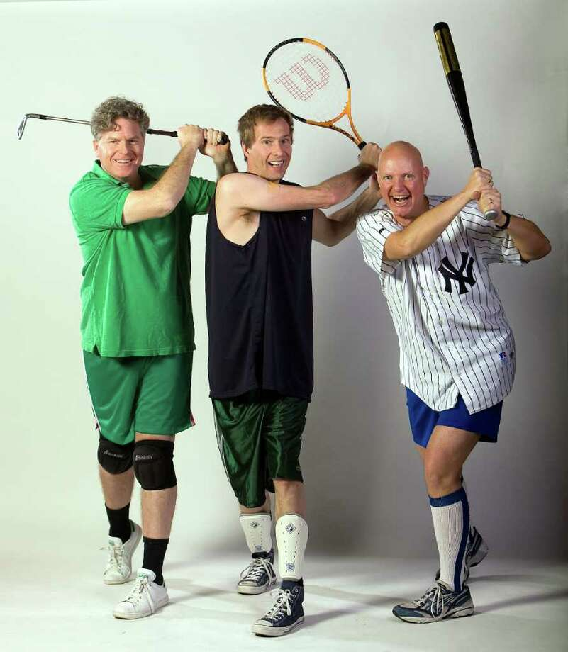 Fairfield University will present âÄúThe Complete World of Sports (abridged)âÄù  by the Reduced Shakespeare Company Friday, March 2, at the Quick Center. Photo: Contributed Photo / ©John Burgess