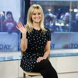 "In this image released by NBC, actress Reese Witherspoon appears on the ""Today"" show to talk about her new movie ""This Means War,"" Monday, Feb. 13, 2012 in New York. (AP Photo/NBC, Peter Kramer)"