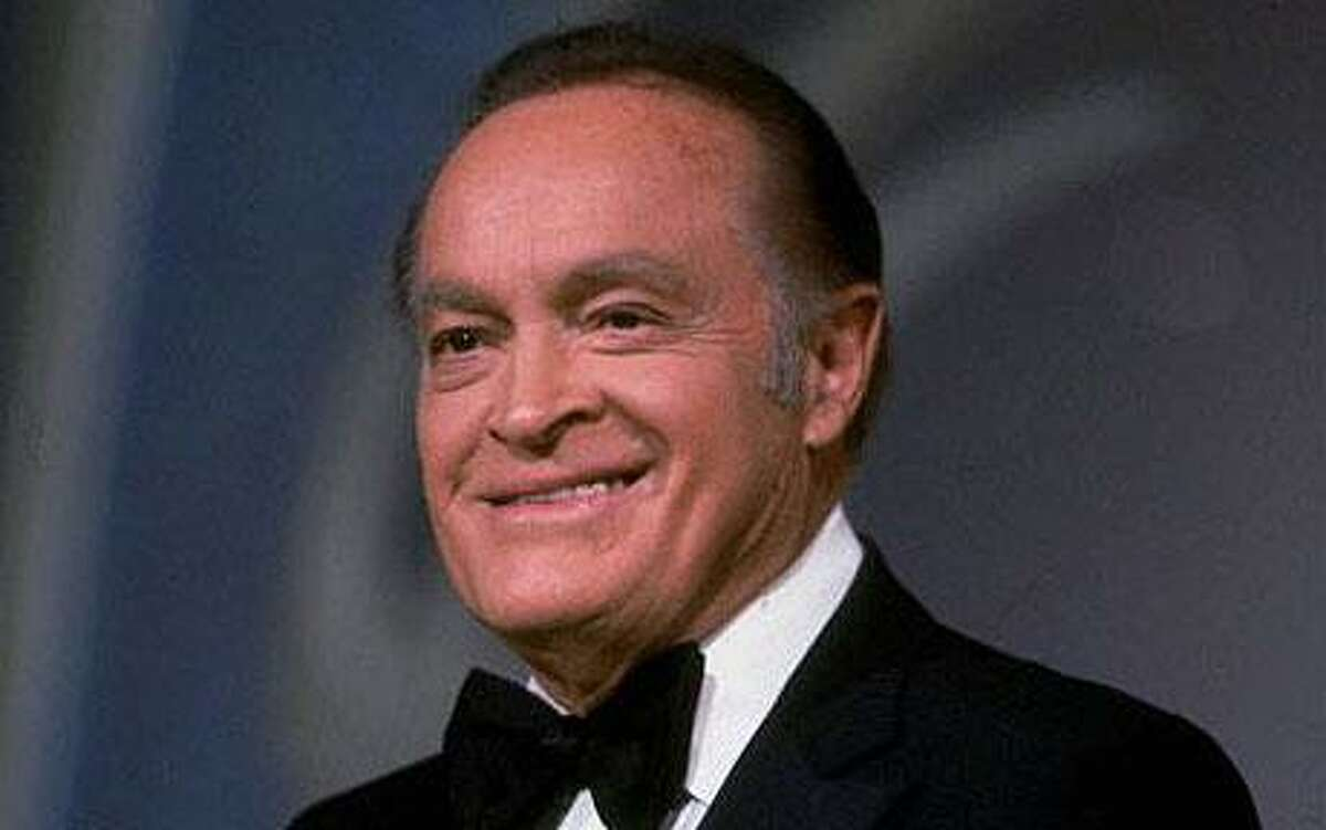 Bob Hope was lauded beyond belief in his lifetime. Today he is not remembered among the comic greats for the simple reason that he lived long enough to stop being funny. But his pre-1960 work was really strong. (Associated Press)