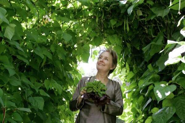 "Alice Waters, the grand dame of the ""slow food"" movement, says she is more of a picker than a planter in the garden."