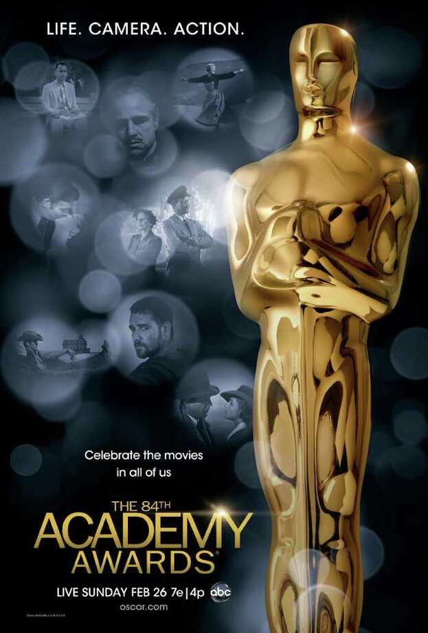 The 84th Academy Awards ceremony will take place Sunday night. Photo: Contributed Photo / Westport News contributed