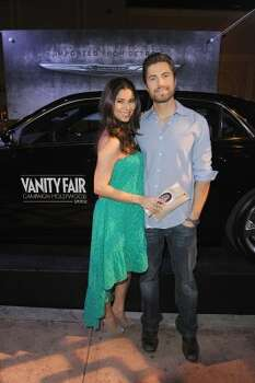 HOLLYWOOD, CA - FEBRUARY 23:  Actors Roselyn Sanchez (L) and Eric Winter attend the Vanity Fair and Chrysler celebration of The Eva Longoria Foundation hosted by Eva Longoria on Thursday, February 23 at Beso Hollywood.  (Photo by Craig Barritt/Getty Images for VF) (Craig Barritt / 2012 Getty Images)