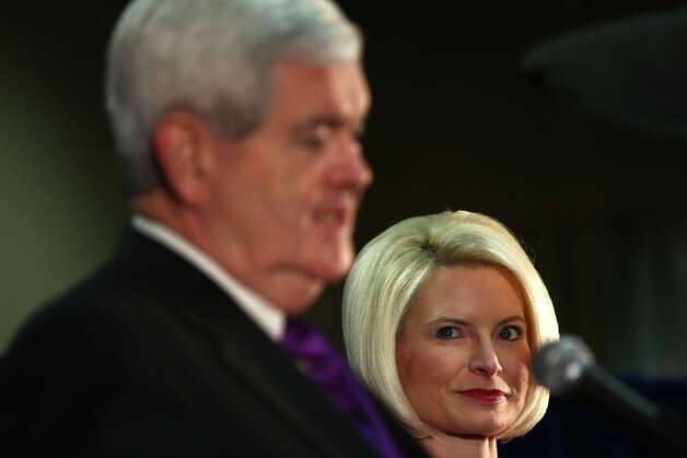House Speaker Newt Gingrich traveled the country in 1998-99, decrying the personal immorality of President Clinton.  At the same time, the married Gingrich was carrying on an affair with the woman -- Callista Gingrich, pictured above -- who would become Mrs. Newt No. 3. Photo: JOSHUA TRUJILLO / SEATTLEPI.COM