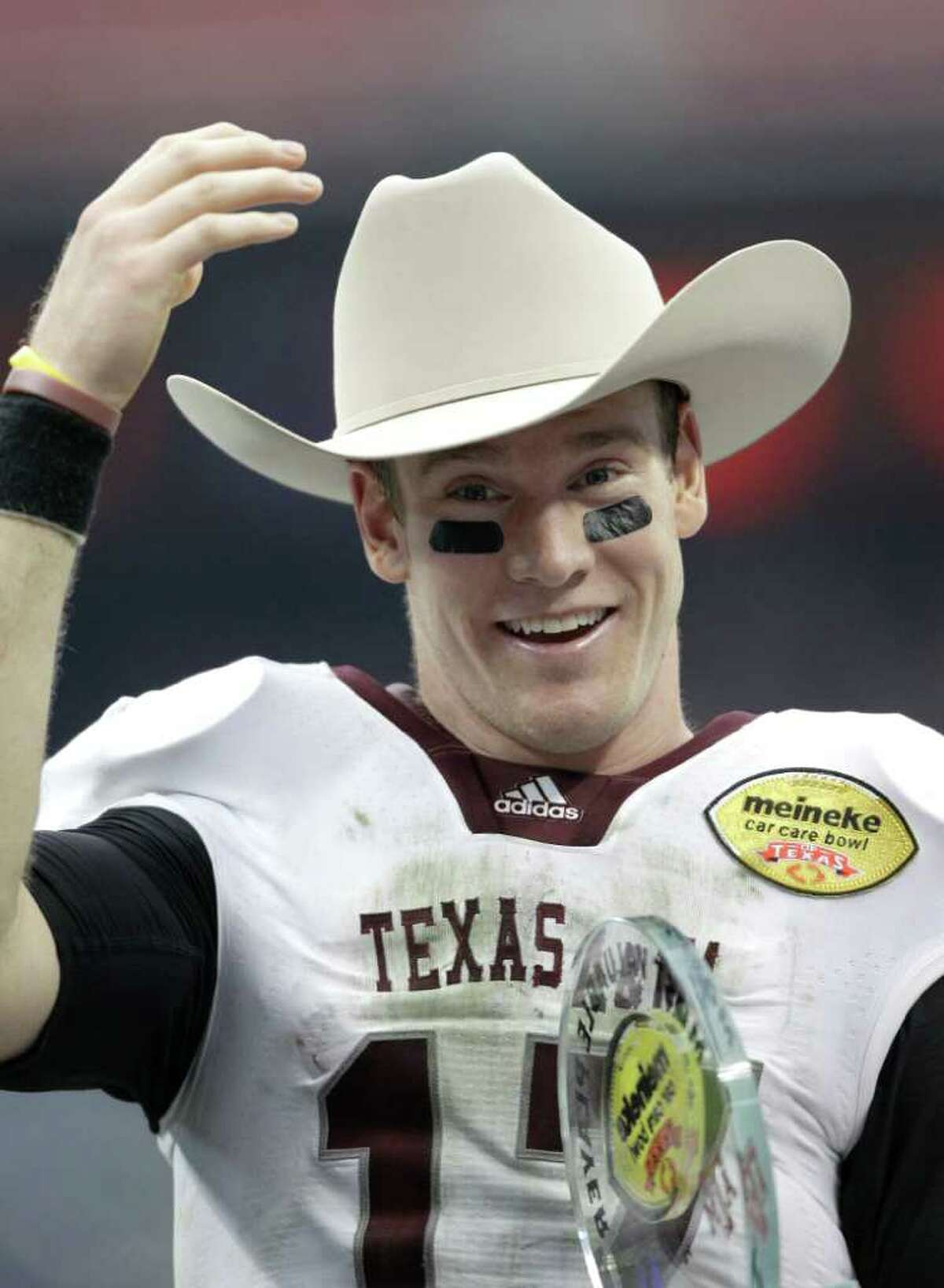 Ryan Tannehill, who likely will be a first-round pick in the NFL draft, started just 19 games at QB at A&M.
