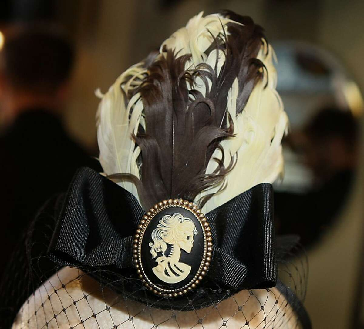 A mini top hat by Hairy Scary were one of the items from Five and Diamond, in San Francisco, Calif., on Wednesday, February 15, 2011.