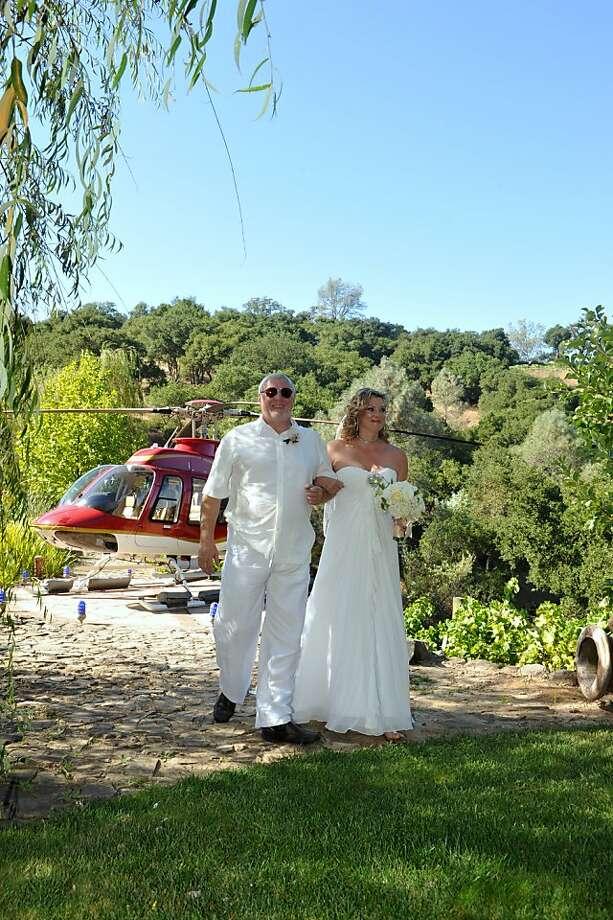Images from the Jennifer Astrup and Pat Kuleto wedding on September 3, 2011  Photos by Jaime Godinez Photo: Sarah Adler, Jaime Godinez