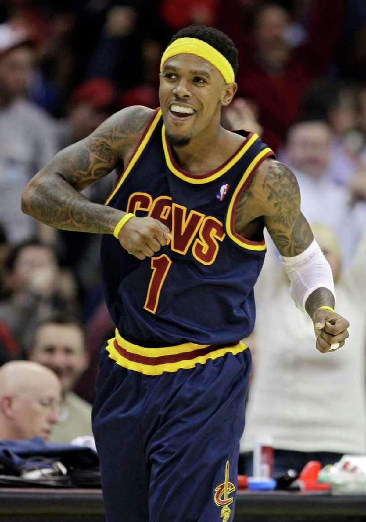 Cavs guard Daniel Gibson also could have been a part of a Texas team full of future NBA players in 2006-07.