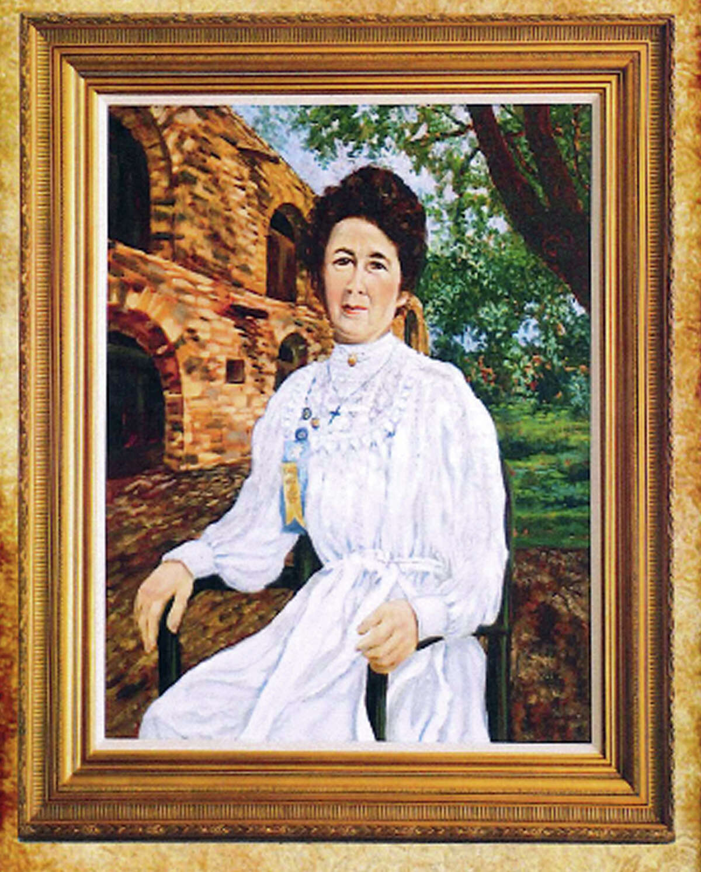De Zavala portrait