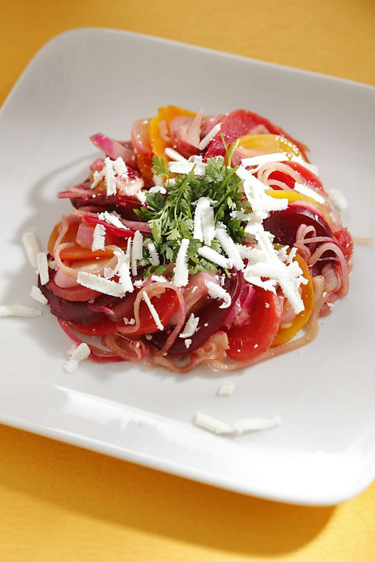 Gold & Red Beet