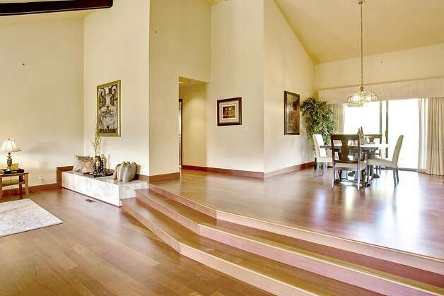 The house's open floor plan is well lit. Photo: Jason Wells
