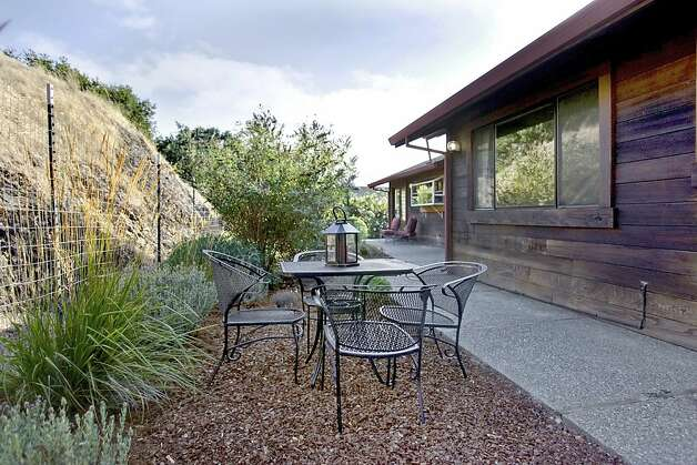 The outdoor space has room for an eating area. Photo: Jason Wells
