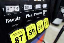 Gas prices are posted at the Sunoco gas station Friday, Feb. 24, 2012 in Philadelphia. The price of gasoline, which is made from crude oil, has soared as oil prices rise. The national average jumped by nearly 12 cents per gallon in a week, with state averages above $4 per gallon in California, Alaska and Hawaii. (AP Photo/Alex Brandon)