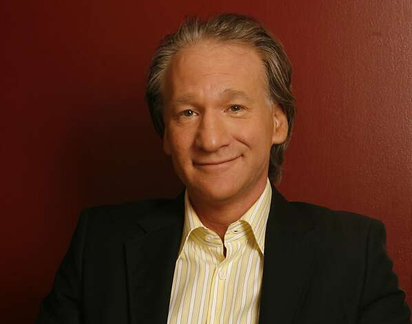 "Bill Maher will perform twice in Northern California this weekend - and you can bet that politics will be on the agenda for the host of HBO's ""Real Time with Bill Maher."" Photo: Damian Dovarganes, Associated Press"