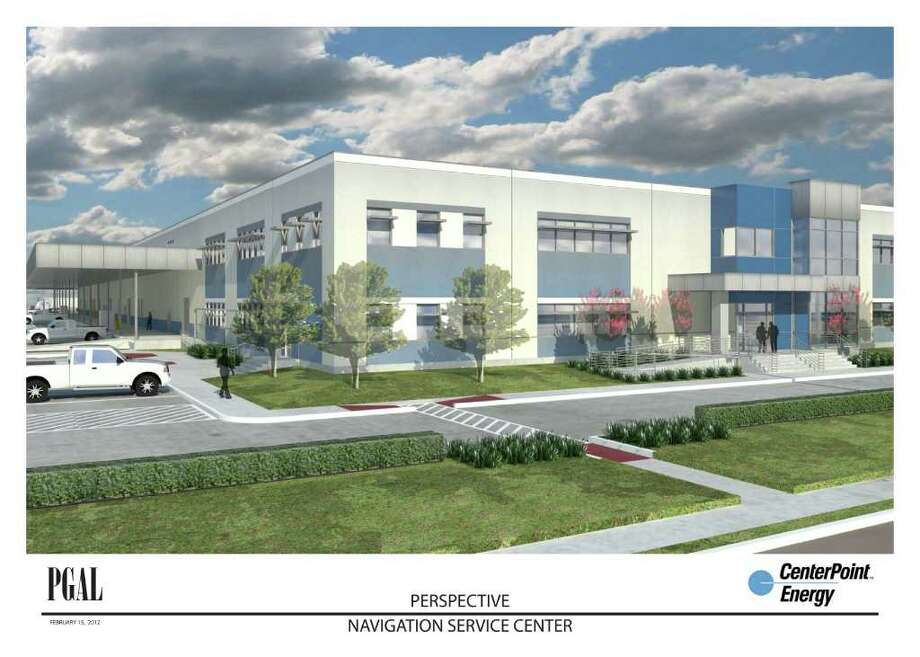 CenterPoint Energy is constructing a 122,000-square-foot building east of down-town. Among the operations to be housed there are training and maintenance. Photo: Centerpoint Energy And PGAL