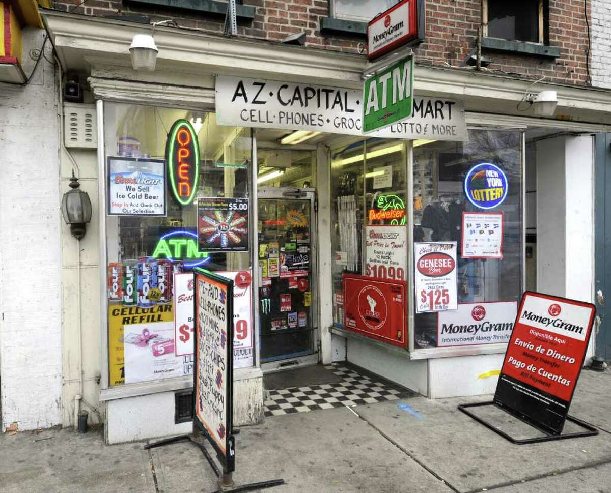 The A-Z Capital Central Mart on Central Avenue in Albany, N.Y. Feb. 24, 2012. ( Skip Dickstein / Times Union)