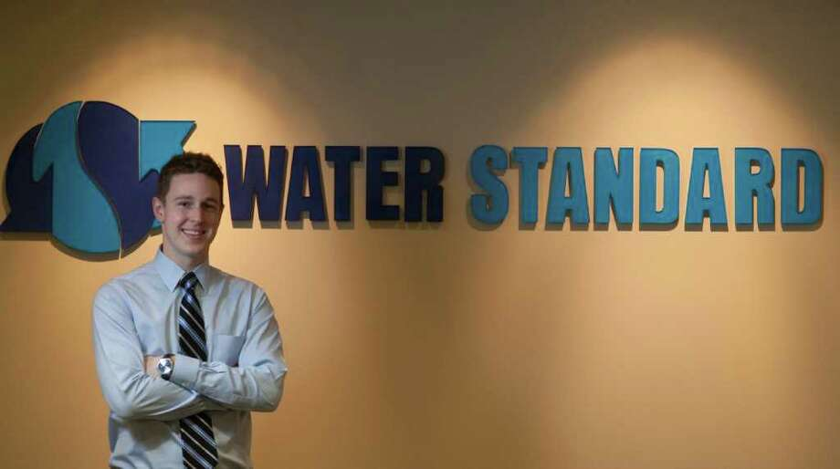 Steve Van Pelt of Water Standard has found there's a high demand for process engineers in Houston. Photo: J. Patric Schneider / Houston Chronicle