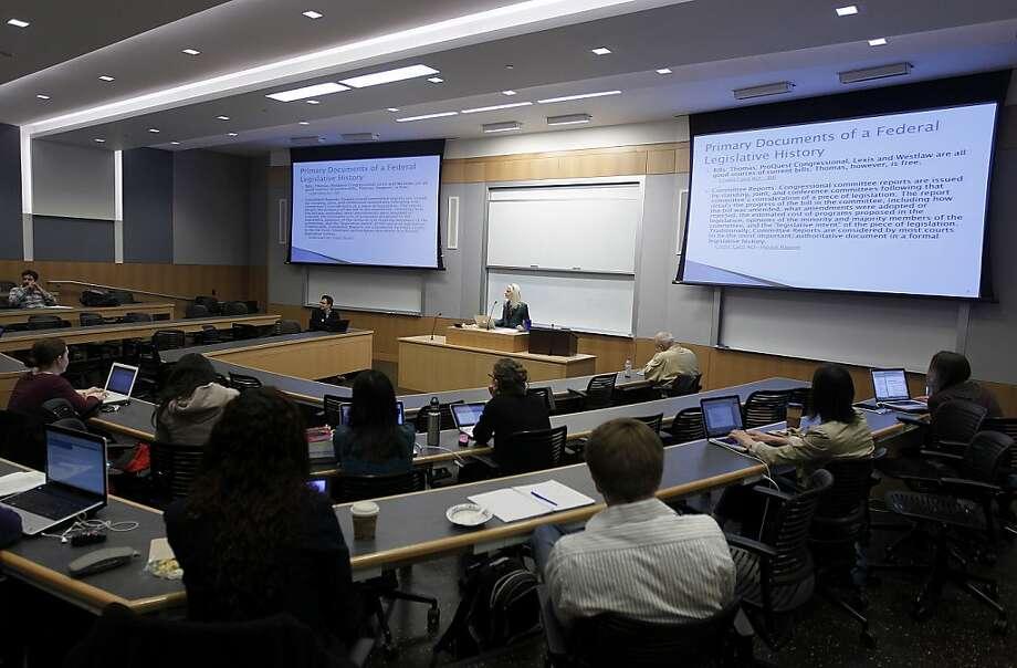 UC Berkeley law school - an incubator for leaders - SFGate