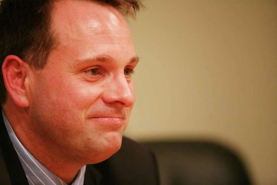 Greenwich Selectman Drew Marzullo, a Democrat, on Oct. 21, 2011. Photo: David Ames / Greenwich Time
