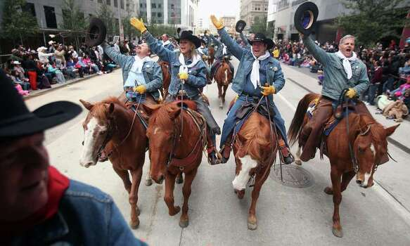 2. Houston Livestock Show Rodeo Downtown ParadeSaturday, Feb. 28University of Texas athletic director Steve Patterson will be the grand marshal for the Houston Livestock Show Rodeo Downtown Parade. The parade will feature more than 3,000 trail riders, as well as bands, floats and local celebrities. The route starts on Walker at Bagby, then proceeds east on Walker to Travis, south on Travis to Bell, north on Louisiana before turning west on Lamar and concluding at Bagby. --Syd KearneyWhen: 10 a.m.Tickets: FREEInformation: rodeohouston.com Photo: Mayra Beltran, Mayra Beltran / Houston Chronicle / © 2012 Houston Chronicle