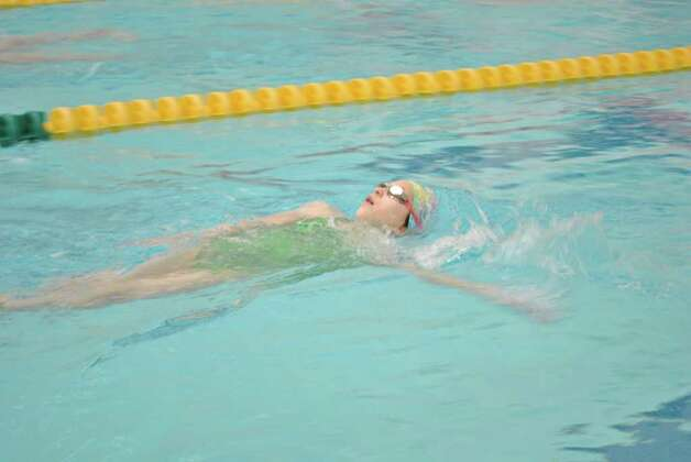 The Greenwich Boys and Girls Club Swim A Thon was held on February 25 in Greenwich. Photo: Lauren Stevens/Hearst Connecticut Media Group