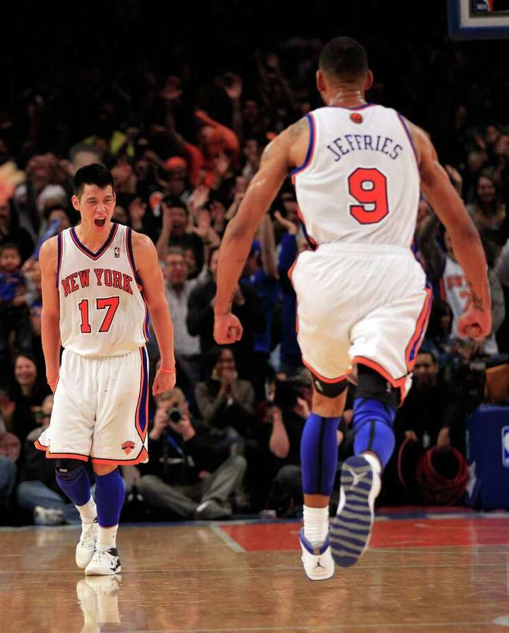 In lifting the Knicks out of the throes of a dismal season, Jeremy Lin has taken New York and the nation by storm. Photo: Chris Trotman / 2012 Getty Images