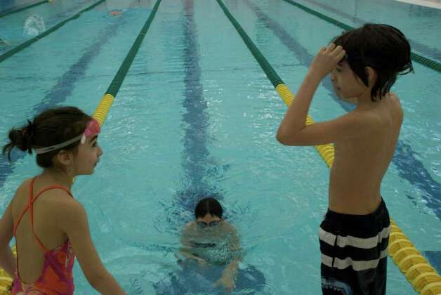 The Greenwich Boys and Girls Club making big splash to help raise funds for its Aquatics program! Photo: Mike Spero / Hearst Connecticut Media Group