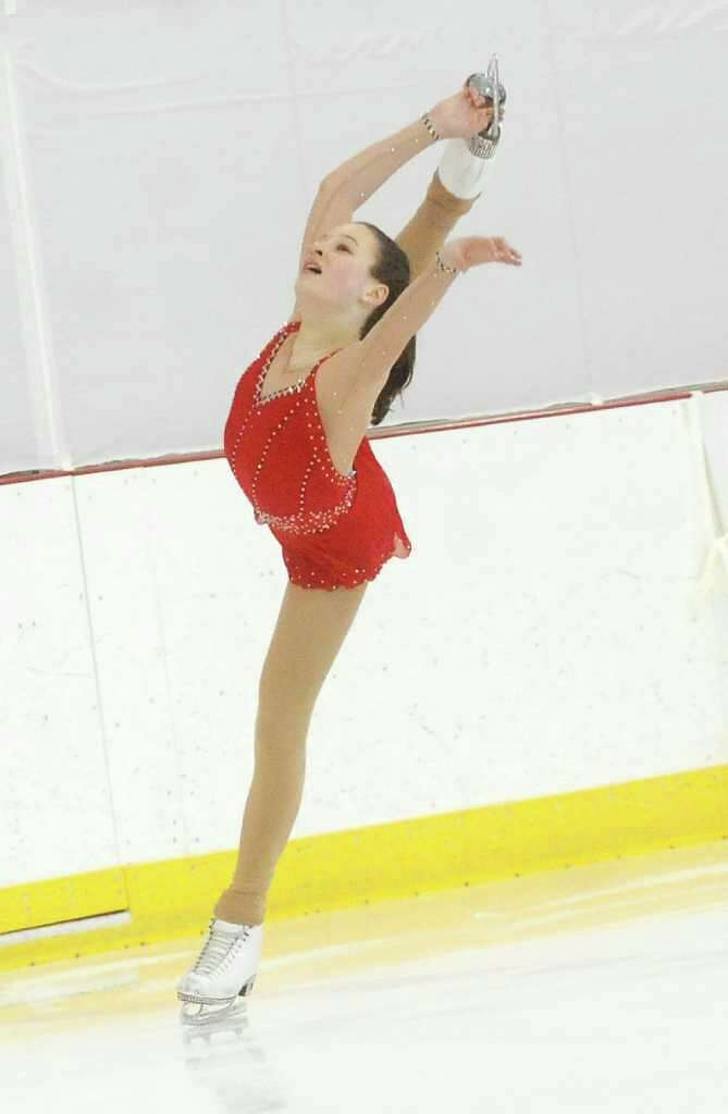 Pippa Leigh 14 Of The New York Skating Club Competes During Well