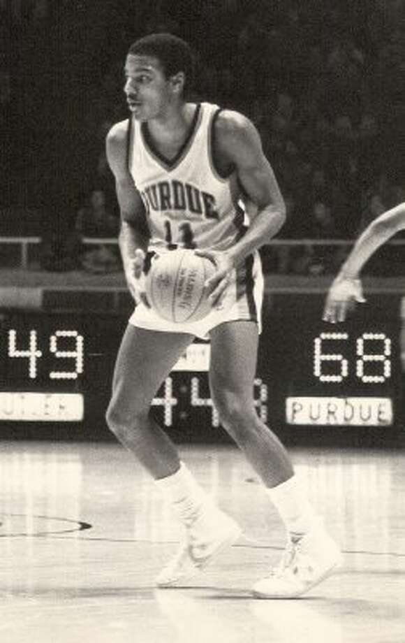 Keith Edmonson, MacArthur: After his Purdue days, scored two points for Atlanta against Washington on Nov. 2, 1982. Edmonson averaged 6.0 points in 87 career games. (Express-News file photo)