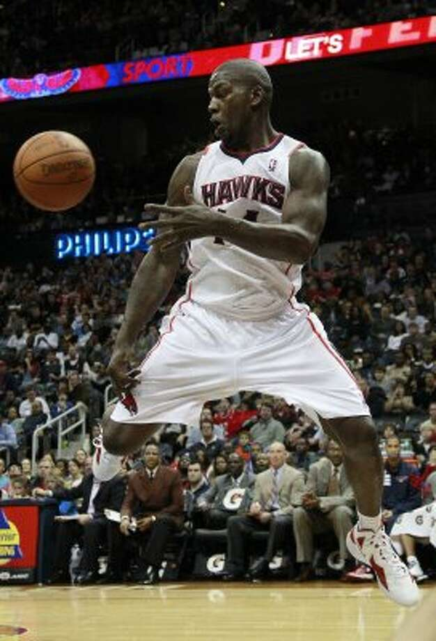 Ivan Johnson, Fox Tech: Scored two points in six minutes for Atlanta against New Jersey on Dec. 27, 2011. Johnson is averaging 4.8 points in 29 career games.  (John Bazemore / Associated Press)