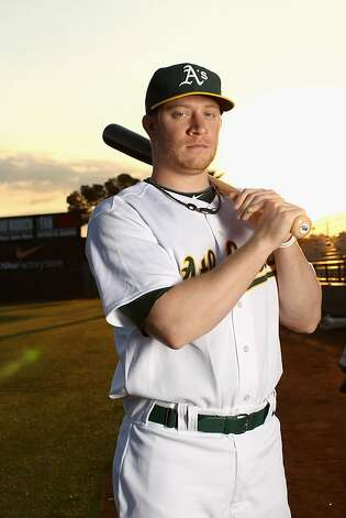 PHOENIX, AZ - FEBRUARY 24: Sean Doolittle #20 of the Oakland Athletics poses for a portrait during media photo day at Phoenix Municipal Stadium on February 24, 2011 in Phoenix, Arizona. (Photo by Ezra Shaw/Getty Images) Photo: Ezra Shaw, Getty Images