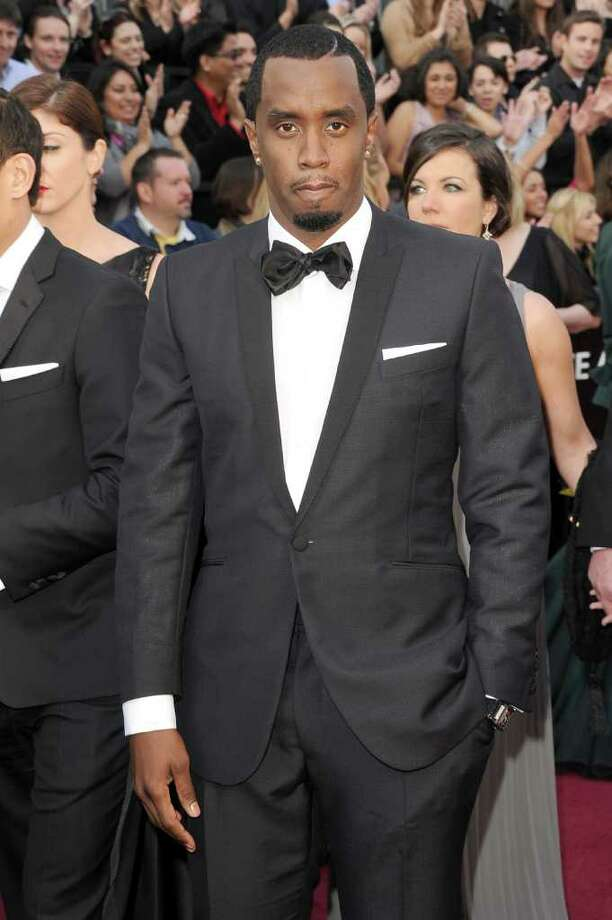 "Sean 'Diddy' Combs chose a look of Hollywood elegance over trendier ""creative black tie."" We approve. Photo: Jason Merritt, Getty Images / 2012 Getty Images"