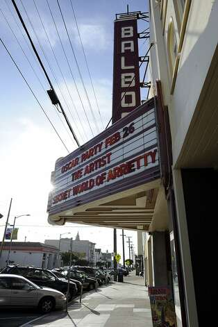 The Balboa Theater held it's annual Oscar Bash Party in San Francisco, CA Sunday Feb. 26th, 2012 Photo: Michael Short, Special To The Chronicle