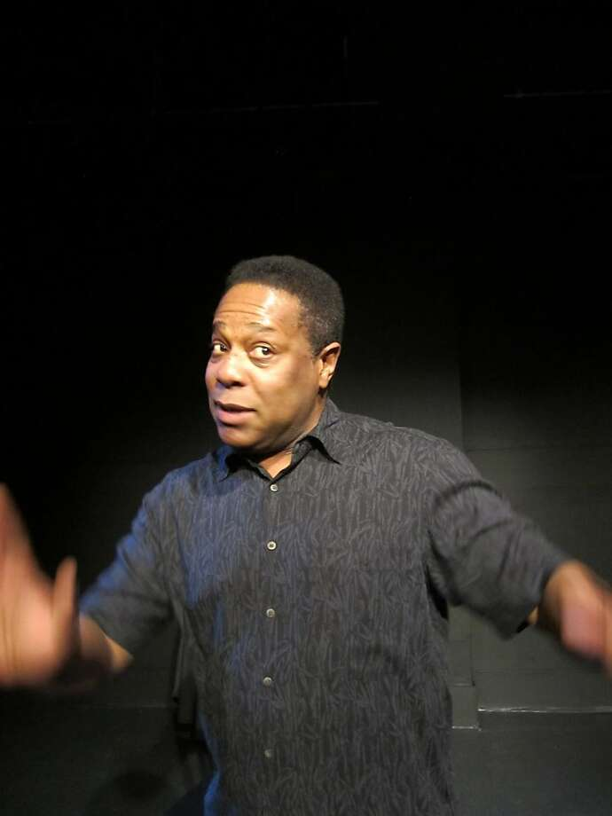 "Brian Copeland performs his new solo show ""The Waiting Period"" at the Marsh Photo: Patti Meyer"