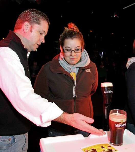 Were You Seen at the Guinness Perfect Pint Competition to Benefit Project LINK on Sunday, February 2