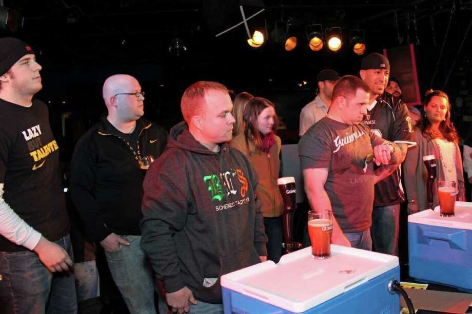 Were You Seen at the Guinness Perfect Pint Competition to Benefit Project LINK on Sunday, February 26, 2012? Photo: Brian Tromans