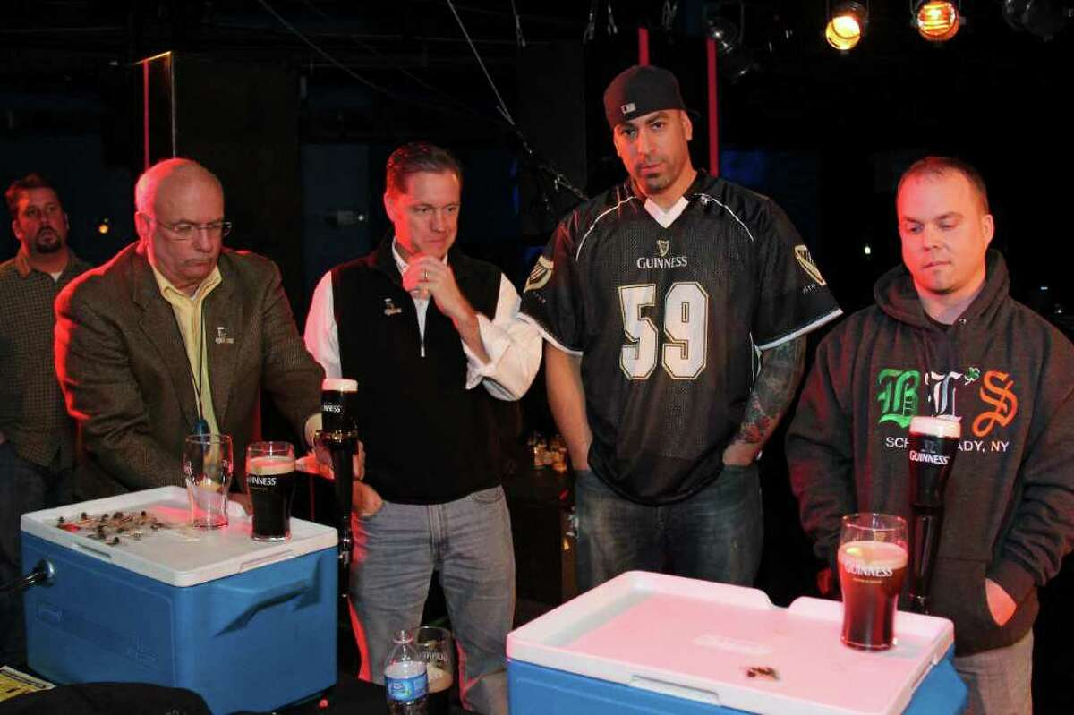 Were You Seen at the Guinness Perfect Pint Competition to Benefit Project LINK on Sunday, February 26, 2012?