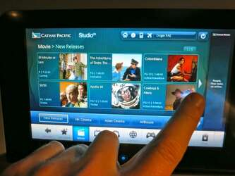 Watching live TV inflight is a mixed bag - SFGate