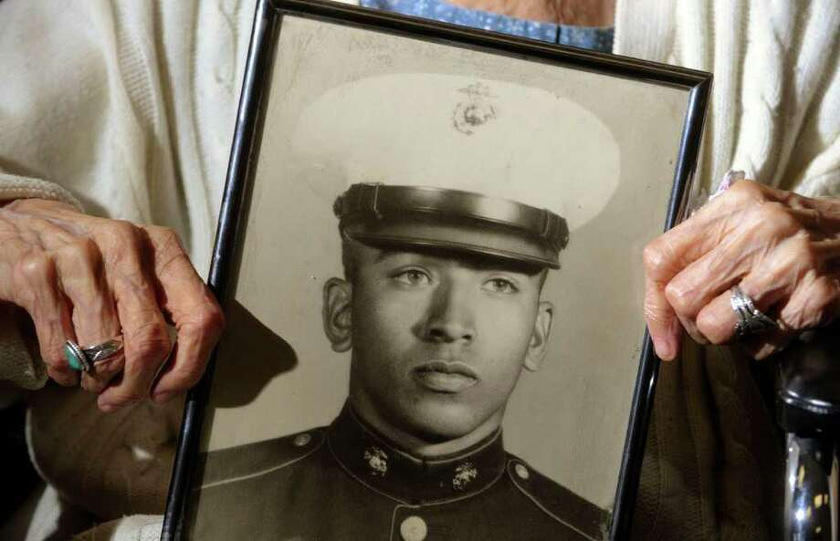 The family of the late Marine Cpl. Roy Cisneros (pictured) donated his Texas Legislative Medal of Honor to the elementary school in the Edgewood Independent School District that bears his name. File photo Photo: BILLY CALZADA, SAN ANTONIO EXPRESS-NEWS