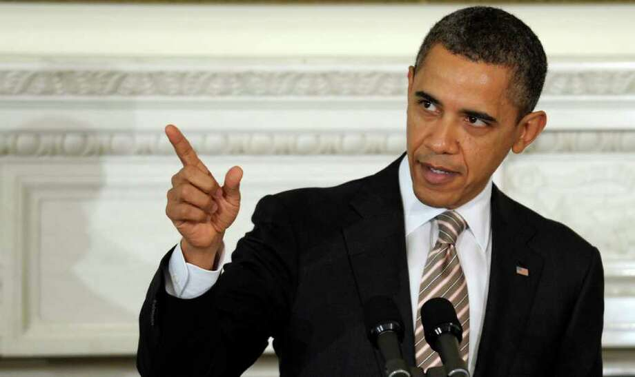 President Obama will be in Houston Friday for a fundraising trip. Photo: Susan Walsh, Associated Press / AP