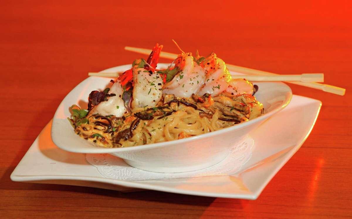 Kata Robata Cuisine: Japanese Dish: Sea Urchin Pasta Entree price range: $$$ Where: 3600 Kirby Phone: 713-526-8858 Website:katarobata.com