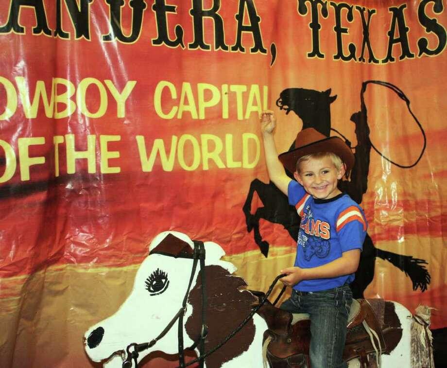 San Antonio Stock Show & Rodeo – Saturday, March 25, 2012 Photo: Express-News