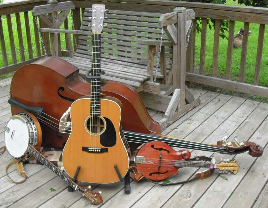Musicians will use an assortment of instruments at the Texas Olde Tyme Bluegrass First Saturday Bluegrass Show and Jam.