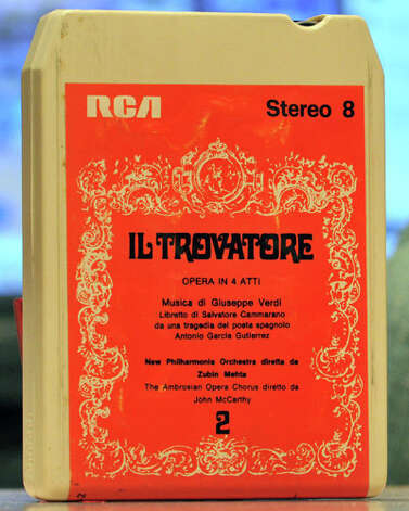 The 8-track tape also came around in the 1960s and was popular through much of the 1970s. Photo: Runningboards/Wikimedia Commons