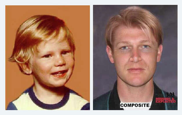 Tyler Inman was 3 years old on Dec. 21, 1982, when he disappeared from his Aberdeen home. He is pictured on the right in an age-progressed photo showing him as he would have appeared in 2008 at age 29.