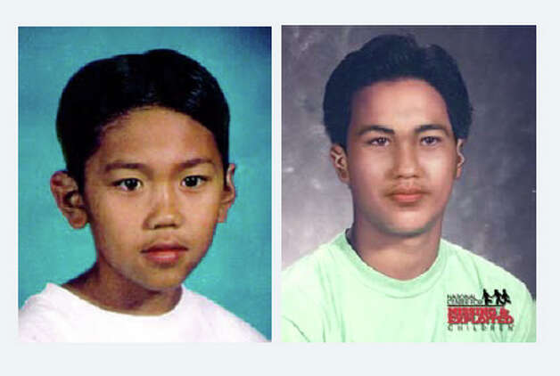 Loukthayoth Yoshi Phiangdae was 11 on Feb. 6, 1996, when he disappeared from his home in Raymond. The photo on the right shows Phiangdae as he would have appeared at age 23 in 2007. Anyone with information may contact the Pacific County Sheriff's Office at 360-875-9397.