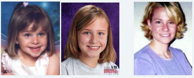 Jasmine Anna Marie Sajedi was 2 years old on July 12, 2004, when she disappeared in Lynden. Investigators believe the girl's mother Christine E. Sajedi, pictured right, abducted the girl. The center photo depicts Jasmine as she may have appeared at age 9 in 2010.