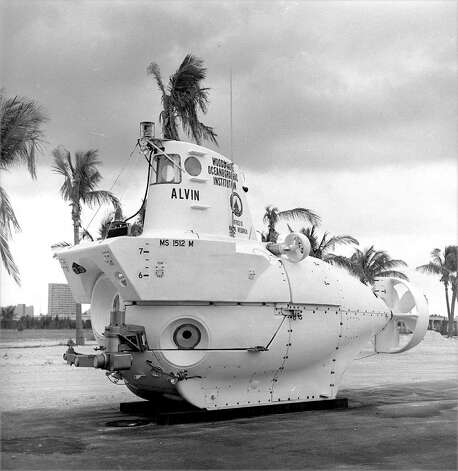 Alvin, a 48-year-old deep submersible research craft that can carry people 2.8 miles below the ocean's surface, is being retrofitted with a tougher new hull designed and built by Southwest Research Institute, which will allow the Navy owned, civilian operated craft to reach a depth of four miles, capable of exploring 99 percent of the ocean floor.  Courtesy photo Woods Hole Oceanographic Institution